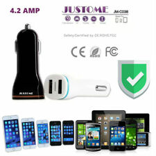 USB Car Charger Premium Smart Dual USB 4.2A - Universal High Speed Charger