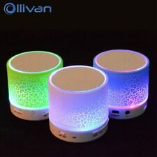 LED Bluetooth Mini Speakers,  Hands Free, Portable and Wireless