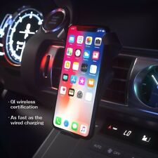 Qi Wireless Car Charger For iPhone X 8 Plus 10W Quick Charger Fast Wireless Char