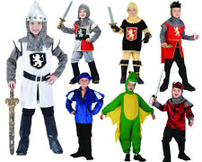 Boys Childrens Medieval Dress Up Knight Lancelot Dragon Prince Camelot Merlin