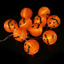 Halloween LED Fairy String Lights Battery Operated Pumpkin Decoration Light