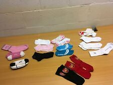 LADIES TRAINER SOCKS SPORTS LOT BUNDLE SIZE 2.5-5 NEW ARSENAL