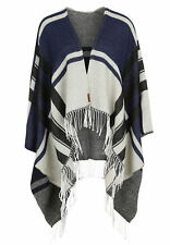 Superdry Schal ARIZONA BLANKET Sand Deep Indigo