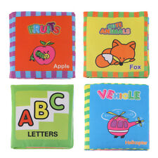 Educational Intelligence Development Cloth Cognize Book Toy for Infant Baby