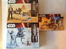 STAR WARS SPEEDER BIKE AND ASSAULT WALKER