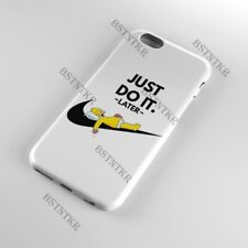 Nike Just do it later iPhone 5 6 s 7 8 Plus SE X Xs Max XR 11 Pro Max case cover