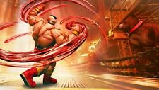 Street Fighter V Poster [Zangief] Wall Art Picture Photo Print 260gsmA4/A3/A2/A1