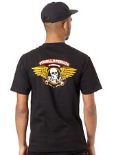 Camiseta Powell Peralta Winged Ripper Negro
