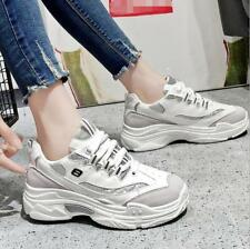 Fashion Women Chunky Trainer Comfy Sneakers Ladies Casual Athletic Running Shoes