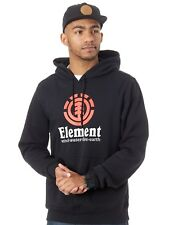 Sudadera con capucha Element Vertical Flint Negro