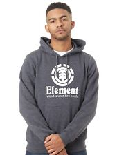 Sudadera con capucha Element Vertical Gris Heather