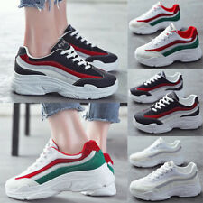 New Women Chunky Trainers Platform Sneakers Ladies Casual Athletic Running Shoes