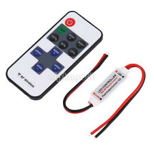 12V Dimmer Controller RF Wireless Remote Switch Controller for LED Strip Light T