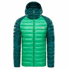 cfb4af22dbd The North Face Trevail Hooded Mens Jacket Down - Primary Green Botanical  Garden