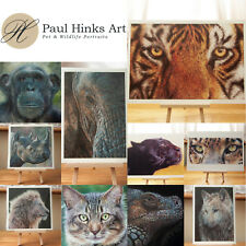 *** FINE ART ANIMAL PRINT *** by Pastel Artist Paul Hinks