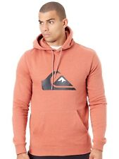 Sudadera con capucha Quiksilver Big Logo Barn Rojo Heather