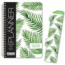 HARDCOVER Academic Year Planner 2018-2019 (Palm Tree)