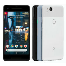 "GOOGLE Pixel 2 5"" Black White Blue 64GB Android Phone Unlocked"
