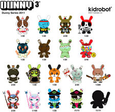 Kidrobot - Dunny Series 2011 - YOUR CHOICE - 64Colors Chuckboy Squink Kronk