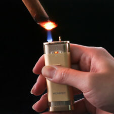 HONEST Fancy Gas Lighter Cigarette Specified Butane Gas Jet Torch Windproof