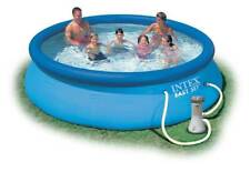 Intex 28132 piscina hinchable elevada Easy Set redonda 366x76