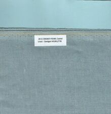 """28 Count """"Smokey Pearl"""" Cashel Linen Zweigart #3281/778, Your choice of FE- size"""