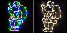 New Indoor Santa LED Light Silhouette  for Room decoration - Different Colours