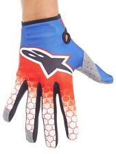Guantes MX Alpinestars 2017 Radar Flight Rojo-azul-blanco