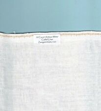 """28 Count """"Antique White"""" Cashel Linen Zweigart #3281/101, Your choice of size"""