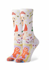 Stance Calcetines de Mujer Tomboy Mrs Patas Blanco