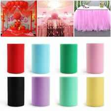 Baby Roll Spool DIY Craft Tulle Party Wedding Decor Lace Fabric Tutu Skirts