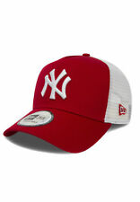 New Era Clean Trucker 2 Adjustable Cap NY YANKEES Rot Red White