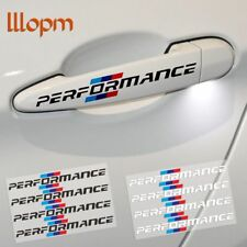 4Pcs/lot Car Styling Door Handle Stickers Performance Decoration For BMW