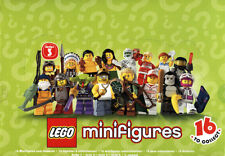 LEGO MINIFIGURES SERIES 3 8803 PICK CHOOSE YOUR OWN +  BUY 3 GET 4TH FREE