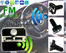 2 USB Charger Wireless Bluetooth Car FM Radio Transmitter MP3 Music Player Kit