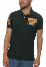 Superdry Polo Herren OLDSKOOL SUPERSTATE PIQUE POLO Highland Green