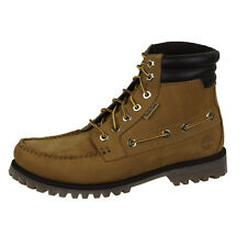 Timberland Mens Oakwell 7-Eye Lace-Up TB072540231 Boot Shoes Wheat