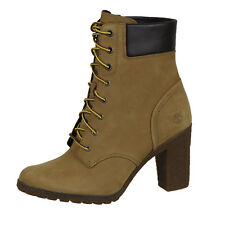 """Timberland Womens TB008715A231 Earthkeepers Glancy 6"""" Boot Shoes Wheat"""