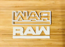 Raw logo Biscuit Cookie Cutter Fondant Cake Decorating Mold
