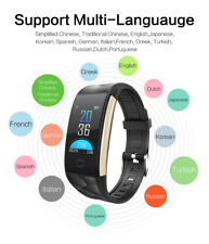 GPS Reloj Inteligente Bluetooth Smart Watch Android IOS Impermeable Podómetro