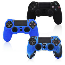 PS4 Silicon Rubber Controller Gamepad Skin Cover with Grip for Playstation 4