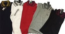 Fred Perry Pique Slim Fit Polo ALL SIZES-GIFT!