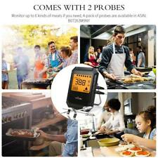 Smart Alarm Grill Thermometer Kitchen Food Candy Bbq Comes 2 Probes
