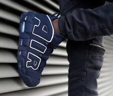 """NIKE AIR MORE UPTEMPO 96 """"OBSIDIAN"""" (921948 400) MENS TRAINERS SIZE UK 8-13"""