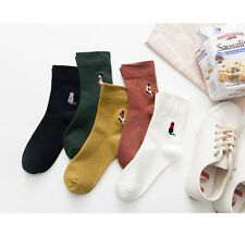 Women Casual Cute Cat Ankle High Short Cotton Socks Fashion