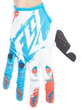Guantes MX Fly Racing 2017 Kinetic Rojo-blanco-azul