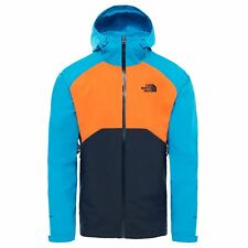 The North Face Stratos Homme Veste Imperméables - Urban Navy Pers Orange Hyper