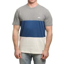 Element Mitch Camiseta Gris Brezo Element Ropa para Hombre Camisetas