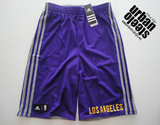 Pantalon corto bermudas reversible ADIDAS Los Angeles Lakers sport shorts NBA