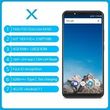"VERNEE X 6GB+128GB 6.0"" Android 7.1 Octa Core 6200mAh 4 Cameras 4G Smartphone"